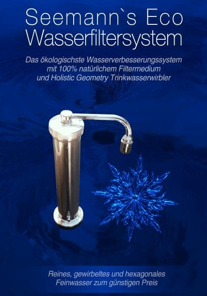 Eco Wasserfiltersystem ihne Strom