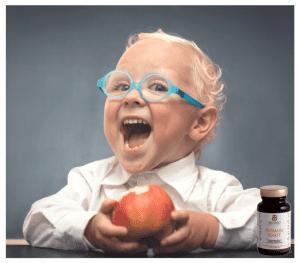 Natürliche Vitamine & Probiotikum für Kinder -Vitamin Gesundheitspaket für Kids - plus Basenbad als Geschenk