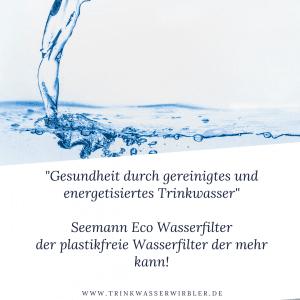 Gesundheit durch gereinigtes Trinkwasser